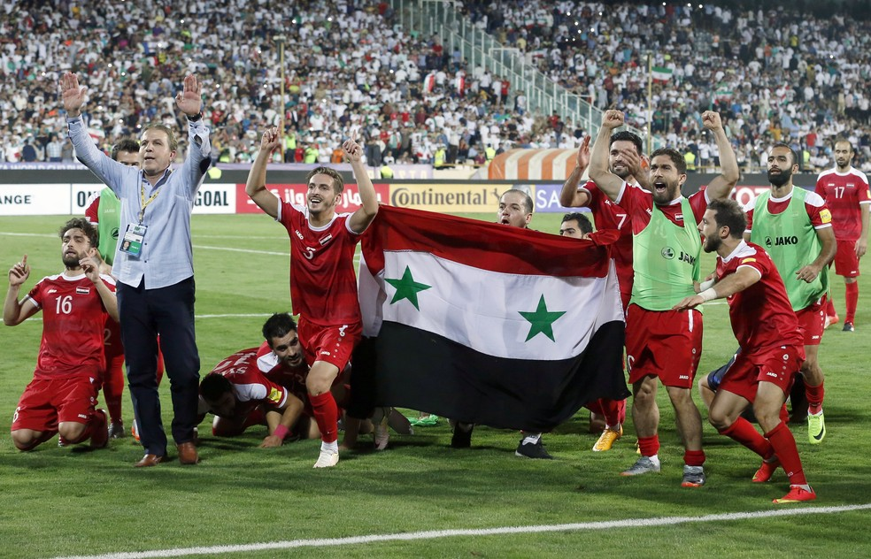 A Síria precisará de duas repescagem para ir à Copa: Austrália e... Estados Unidos? (Foto: AFP)