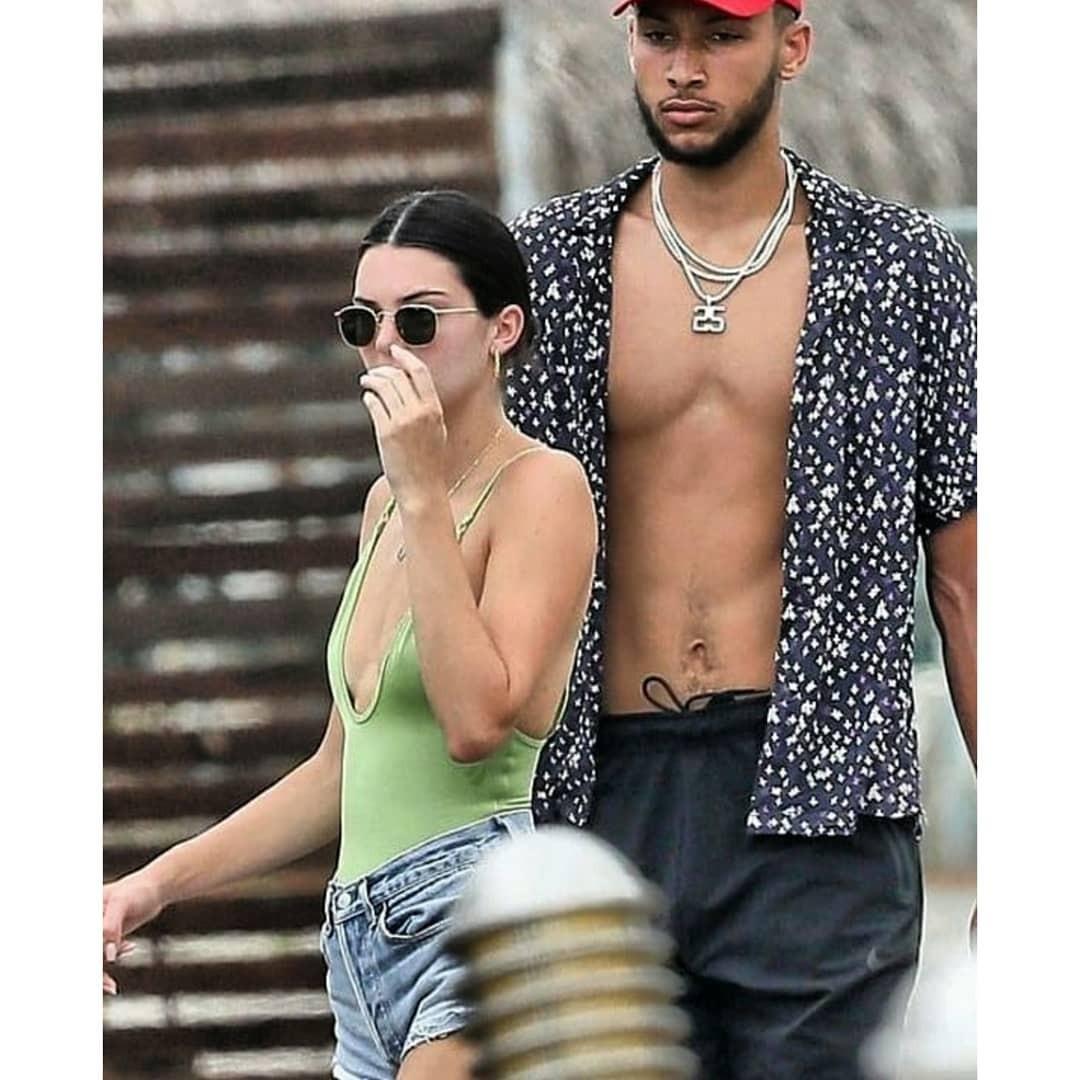 Kendall Jenner e Ben Simmons (Foto: Reprodução Instagram)