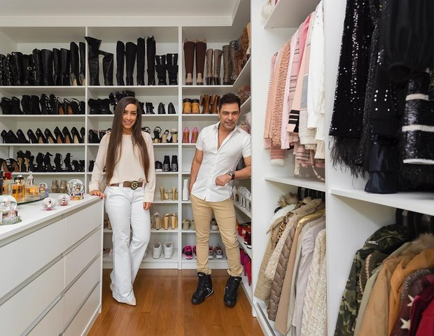 Amabylle e Zezé Di Camargo (Foto: Reprodução)
