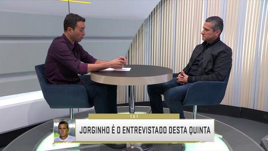 """Jorginho dá apoio a Valdir como técnico do Vasco: """"O Bigode vai dar certo se apostarem nele"""""""