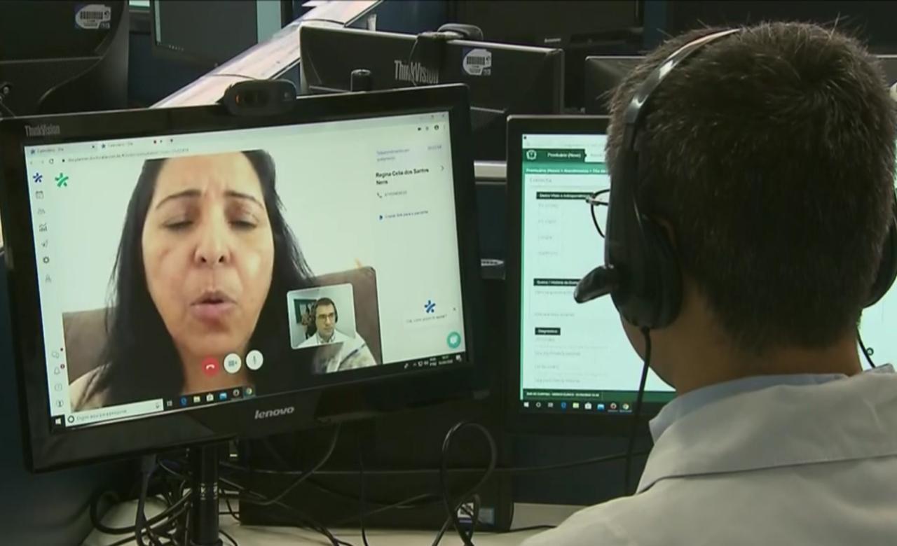Serviço de teleconsulta para Covid-19 em Curitiba atende 11 mil pessoas em 15 dias