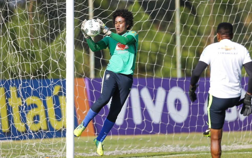 Goleira Luciana, da Ferroviária, voltou a ser convocada pela Seleção Brasileira  — Foto: Divulgação/CBF