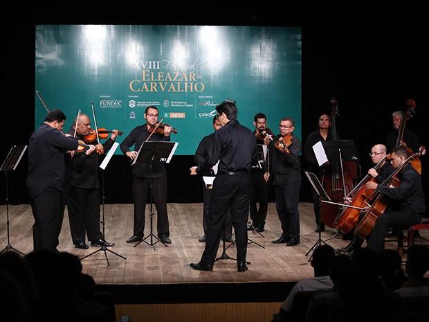 Abertura do festival aconteceu no dia 3 de julho e contou com apresentação da Orquestra de Câmara Eleazar de Carvalho (Foto: Ares Soares/Unifor)