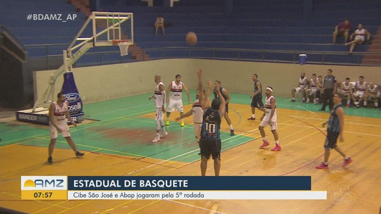 Cibe/São José estreia pivô e vence a Abap no Estadual de Basquete