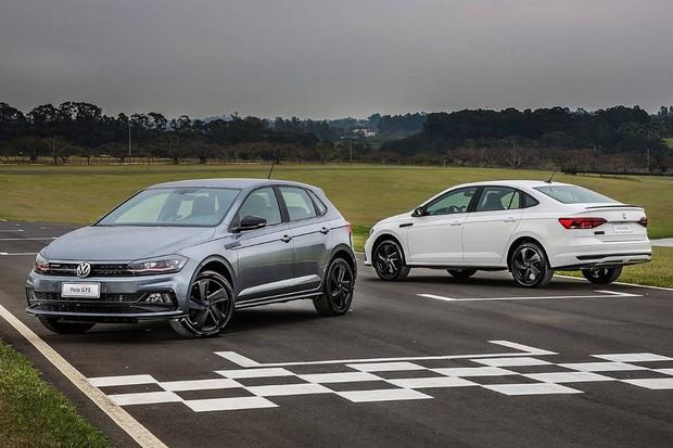 Volkswagen Polo e Virtus GTS (Foto: Divulgação)