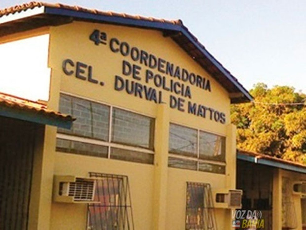 Presos fugiram de carceragem em Santo Antônio de Jesus, na Bahia — Foto: Carlos José/Site Voz  da Bahia
