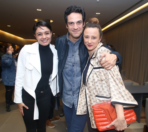 Sophie Charlotte, Mateus Solano e Paula Braun (Foto: Anderson Borde/AgNews)