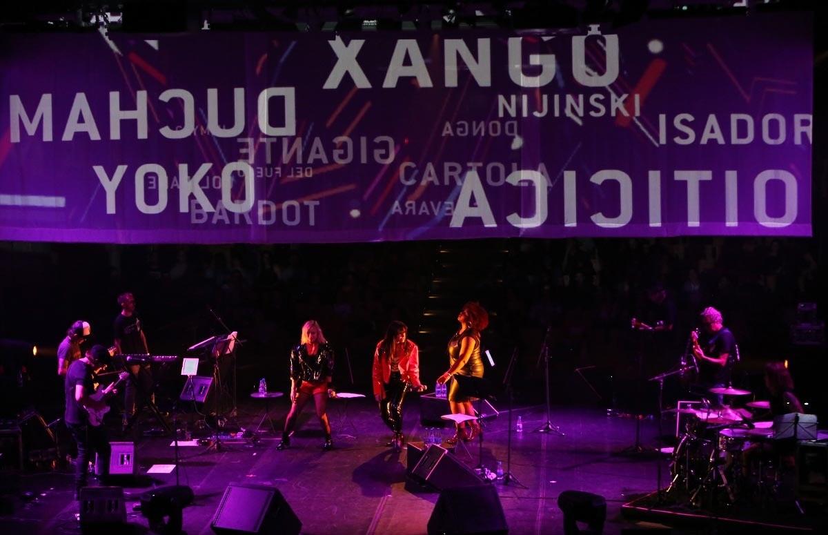 Show da Gang 90 no Sesc Pompéia em São Paulo (Foto: Rubens Chiri / Divulgação)