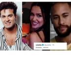 Luan Santana e Neymar foram citados por fã de Juliette e ela aprovou: 'Adorei (risos)' | Reprodução
