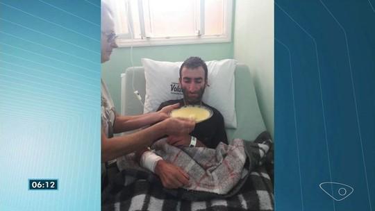 Desaparecido na mata é encontrado pelos irmãos depois de 22 dias no ES