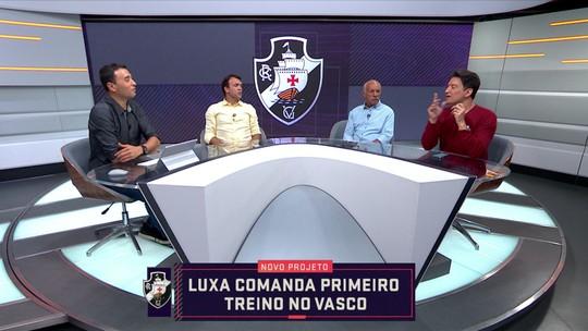 """Júnior destaca cobrança de Luxemburgo por físico em dia no Vasco: """"Maxi López vai sofrer"""""""