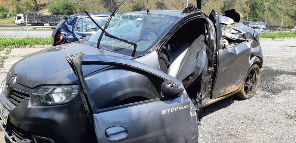 Acidente em rodovia de Araçariguama deixa duas pessoas mortas — Foto: Divulgação/São Roque Notícias