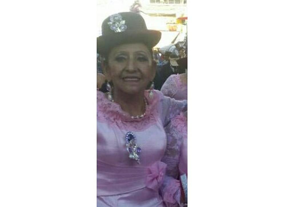 Carmen Chacón havia sido hospitalizada com pneumonia agravada por diabetes  (Foto: Reprodução/ Facebook/ Escarly Ticona)
