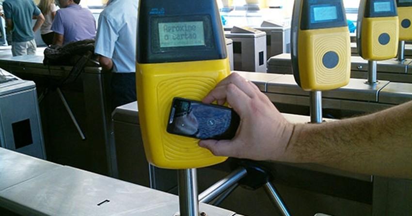 bff352baedb Smartphones poderão  pagar  passagens de ônibus via NFC no Rio de Janeiro