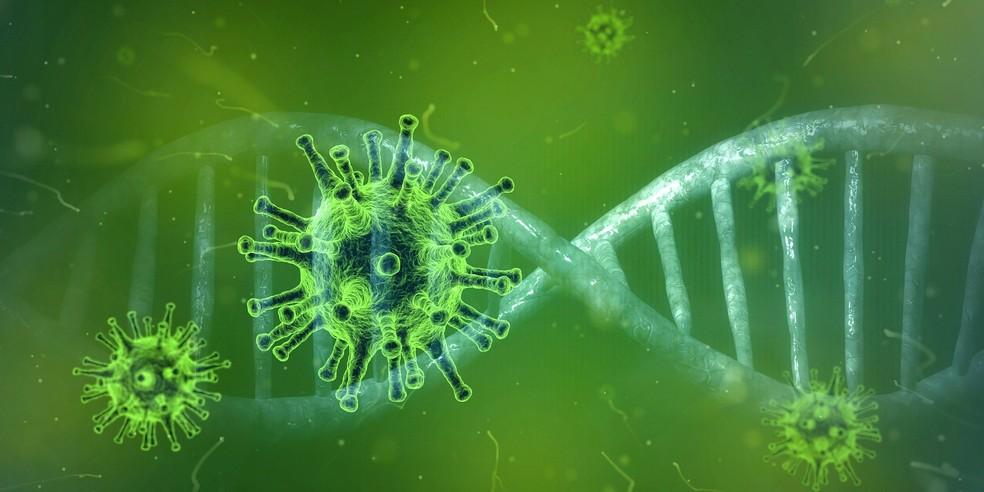 Imagem ilustrativa do coronavírus — Foto: Peter Linforth/Pixabay