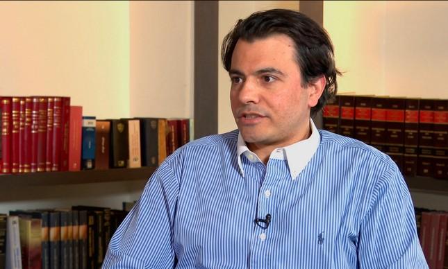O empresário Otávio Fakhoury, apoiador do presidente Jair Bolsonaro