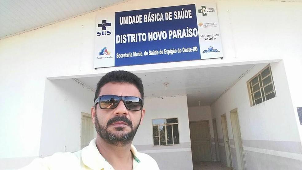 Secretário de saúde será transferido para Porto Velho (Foto: Prefeitura Espigão D'Oeste/Divulgação)