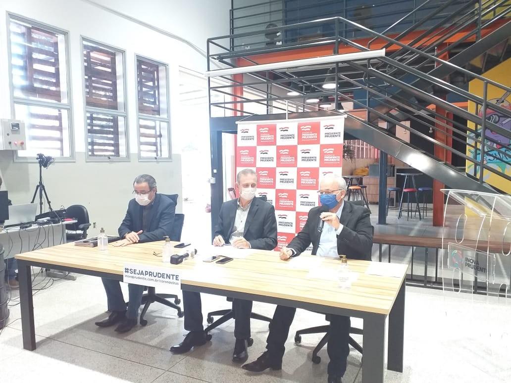 População consciente é importante para plano de retomada ter sucesso em Presidente Prudente, diz prefeito