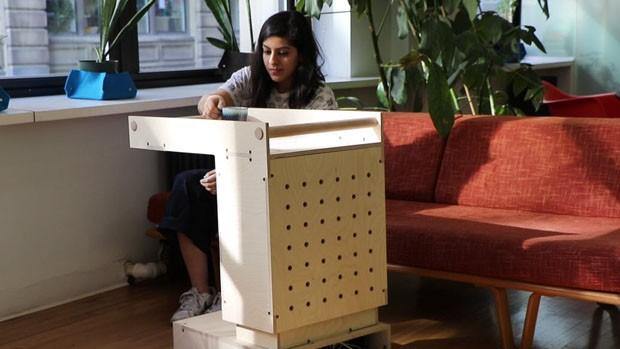Designer cria mesma robótica para quem tem dificuldade de locomoção (Foto: Divulgação)