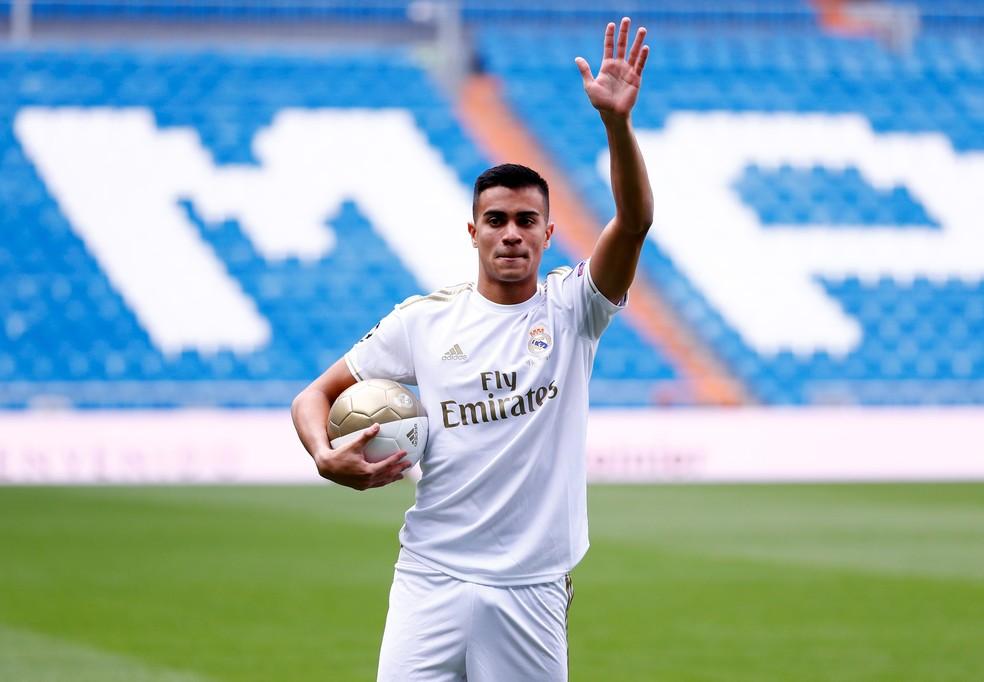 Reinier é o único brasileiro da lista que ainda não jogou pela equipe principal — Foto: Reuters