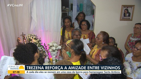 Trezena reforça a amizade entre vizinhos em Salvador
