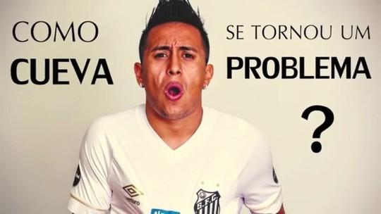 """Santos libera Cueva para """"tratar assuntos pessoais e relacionados à sequência da carreira"""""""
