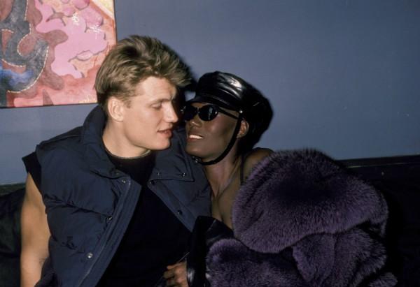 Dolph Lundgren e Grace Jones (Foto: Getty Images)