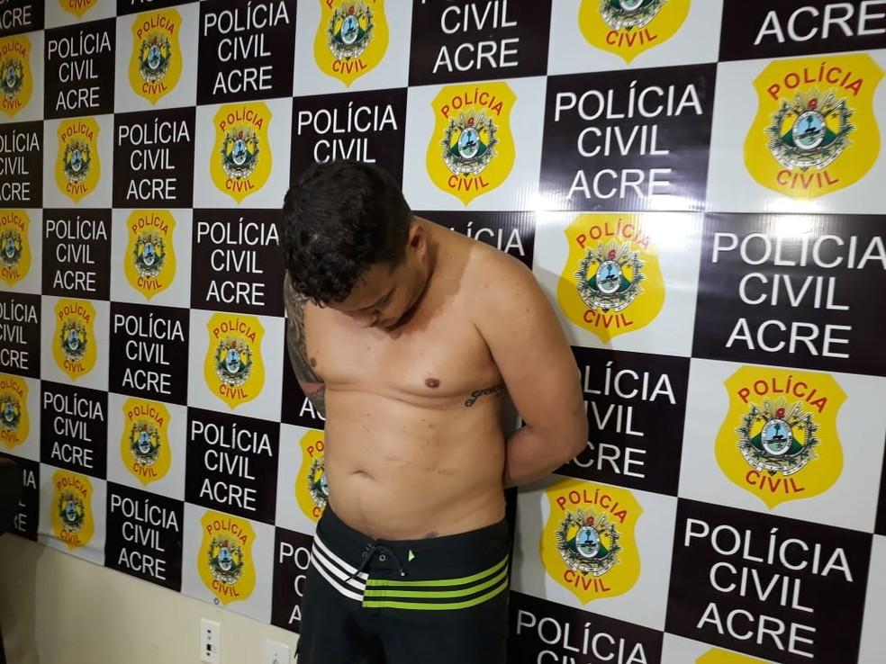 Maxwel Nascimento foi condenado a sete anos por tráfico de drogas em regime inicial fechado — Foto: Iryá Rodrigues/G1