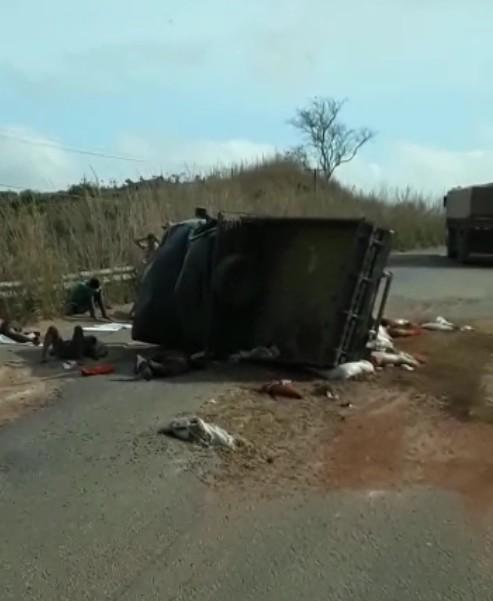 Oito pessoas ficam feridas e uma morre em acidente na PA-150, sudeste do PA - Notícias - Plantão Diário