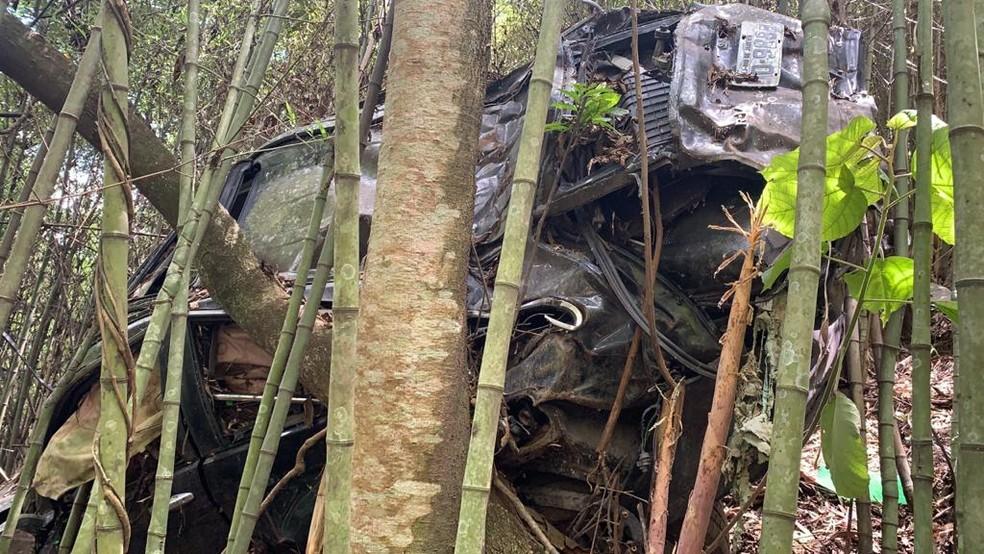 Carro do irmão do ator Marco Ricca, desaparecido há seis anos, é encontrado em Santa Isabel — Foto: Divulgação