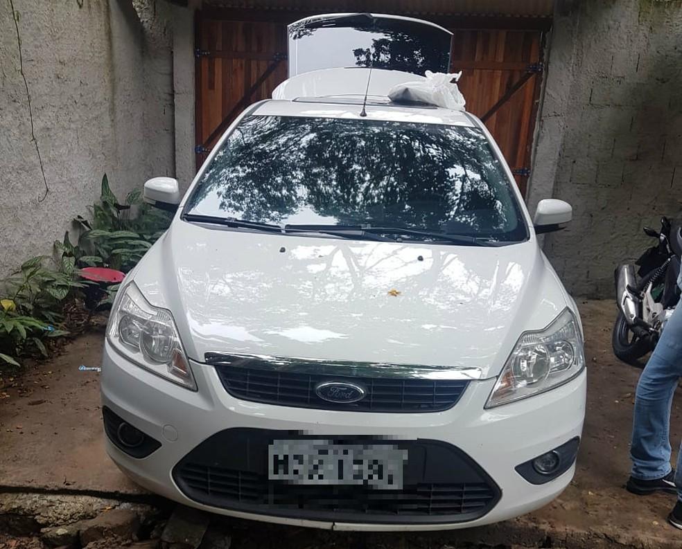 Durante operação, suspeito fugiu — Foto: Divulgação/Polícia Civil
