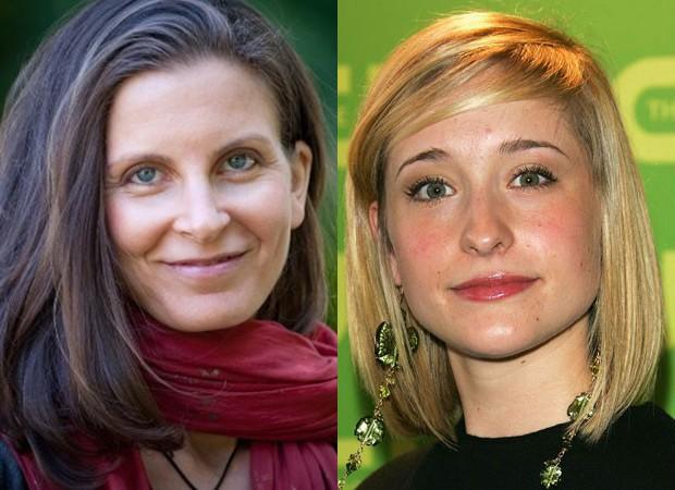 Clare Bronfman e Allison Mack: presos por envolvimento em culto sexual (Foto: Reprodução e Getty Images)