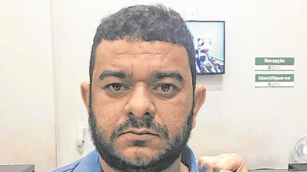 Celim, fundador de facção criminosa cearense, deixa presídio federal — Foto: SAP
