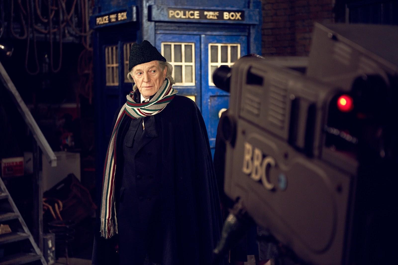 """David Bradley interpreta William Hartnell em """"Uma Aventura no Espaço e Tempo"""" (Foto: Divulgação)"""
