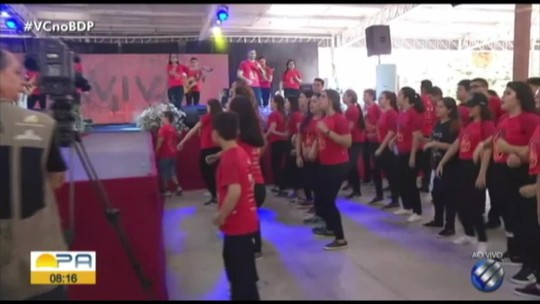 Comunidade católica realiza programação de Carnaval em Belém
