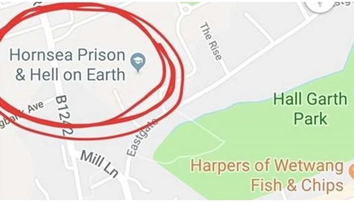O erro já foi arrumado no Google Maps (Foto: Reprodução)