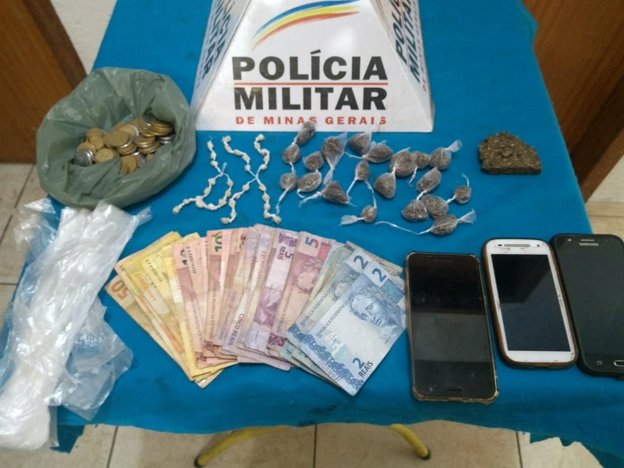 Trio é detido por tráfico de drogas no Bairro São Bernardo em Juiz de Fora - Notícias - Plantão Diário