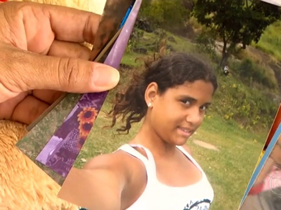 Luiza Paula foi uma das vítimas do massacre em Realengo. — Foto: Reprodução/ TV Globo