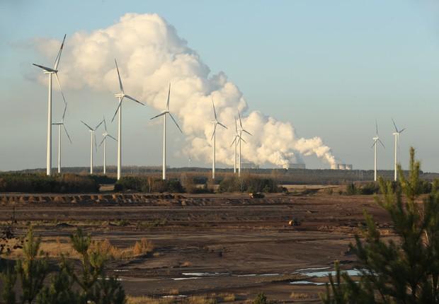 Turbinas de energia eólica na Alemanha (Foto: Sean Gallup/Getty Images)