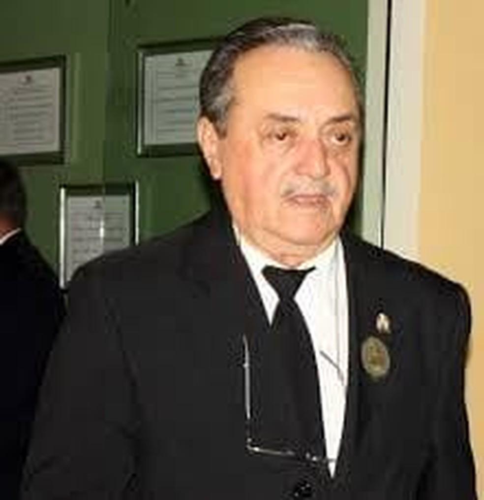 Escritor Cláudio Batista Feitosa faleceu aos 86 anos no mesmo dia em que se comemora o aniversário de Porto Velho — Foto: Divulgação/Academia de Letras de Rondônia (ACLER)