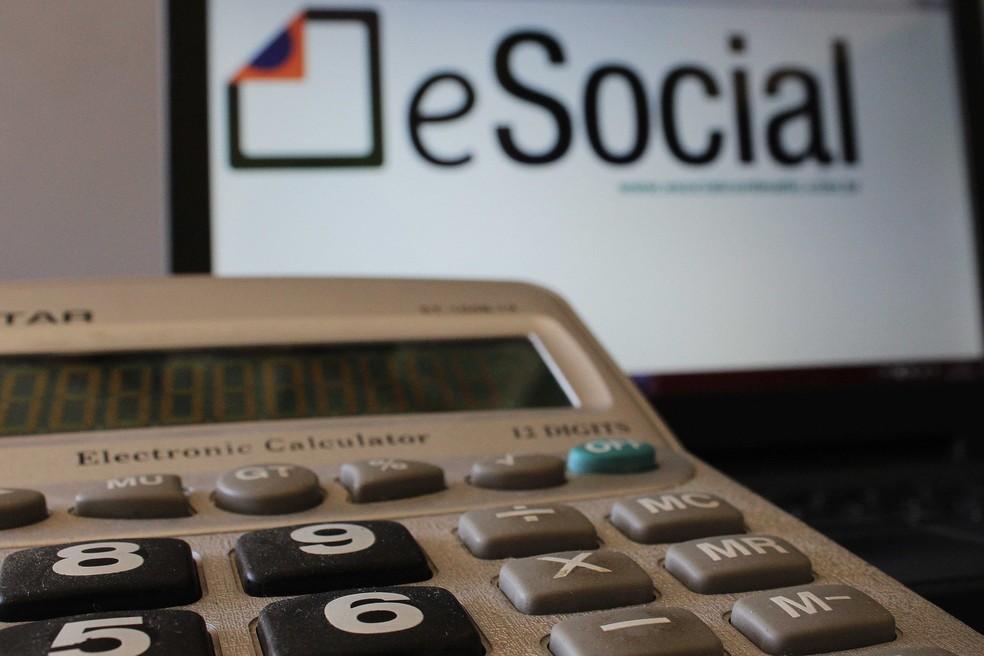 Site do eSocial (Foto: Thiago Oliveira/Agência Freelancer/Folhapress)