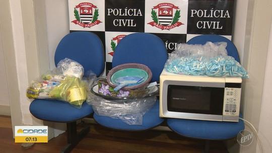 Cinco pessoas são presas por suspeita de tráfico de drogas, em Amparo