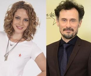 Leandra Leal e Enrique Diaz | TV Globo
