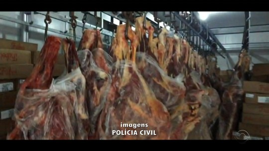 Polícia desarticula esquema de roubo de carga e apreende 27 t de carne