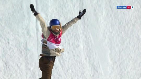 Austríaca Anna Gasser conquista o ouro no snowboard big air em PyeongChang