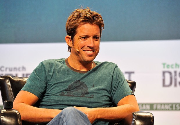 Nick Woodman, fundador e CEO da GoPro (Foto: Steve Jennings/Getty Images)