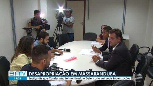Demolição em Massaranduba: Justiça diz que Conder não foi notificada a tempo