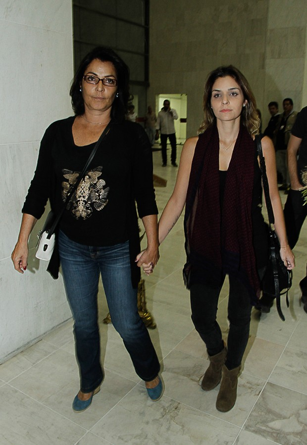 Angelina Muniz e Aline Borges (Foto: Amauri Nehn/Photo Rio News)
