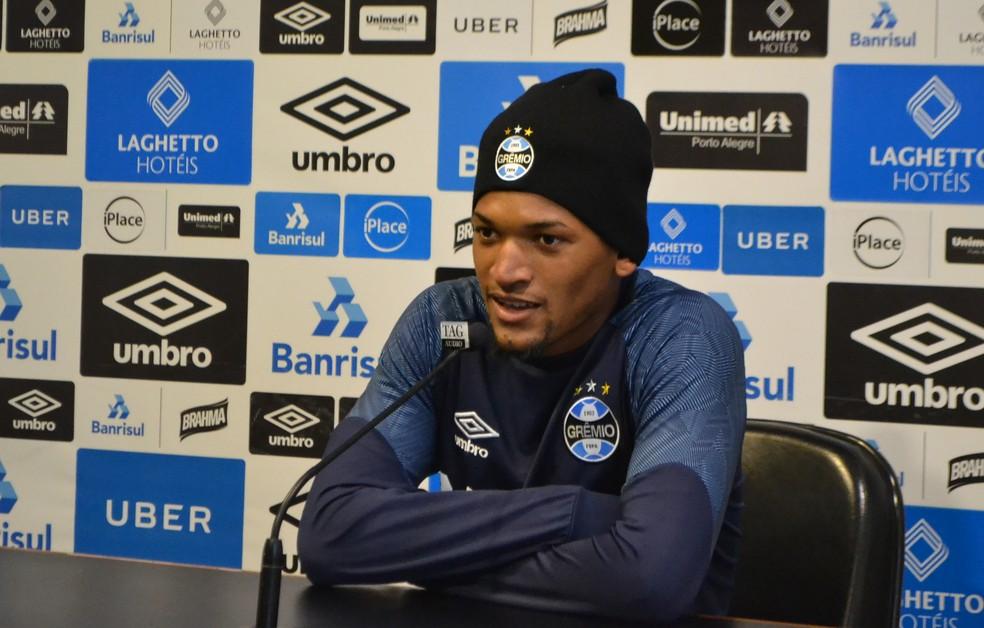 Jailson ficou no Grêmio (Foto: Eduardo Moura)