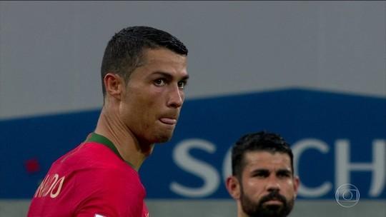 Cristiano Ronaldo tem o recorde de velocidade da Copa